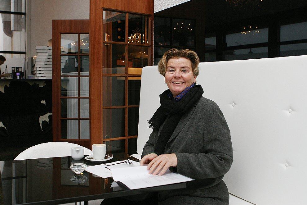 Депутат исландского парламента Биргитта Йонсдоттир