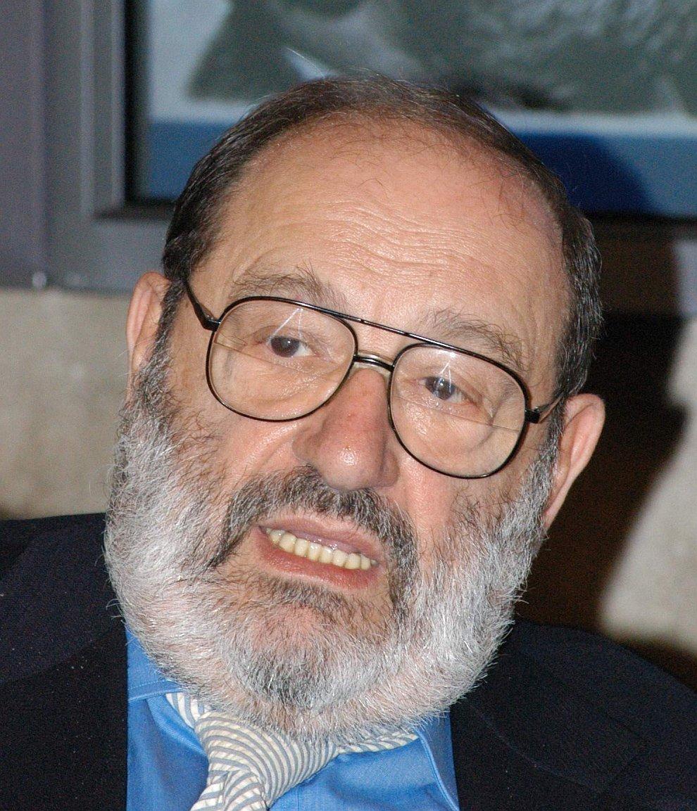 Итальянский ученый-философ Умберто Эко