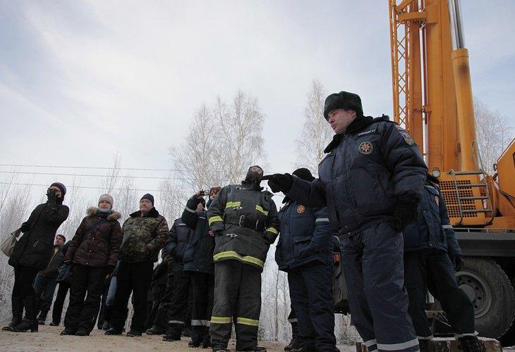 Как рубили Кремлевскую елку