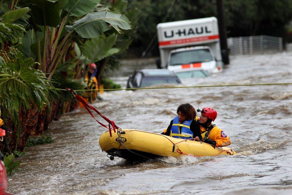 Наводнени в Калифорнии