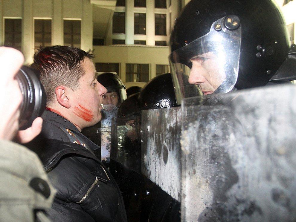Акция оппозиции в Белоруссии