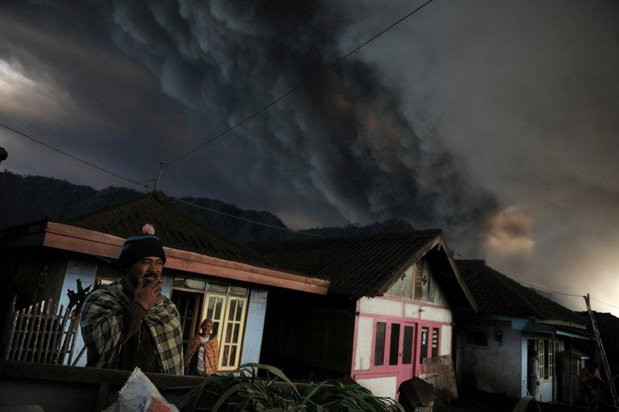 В Индонезии проснулся активный вулкан Бромо