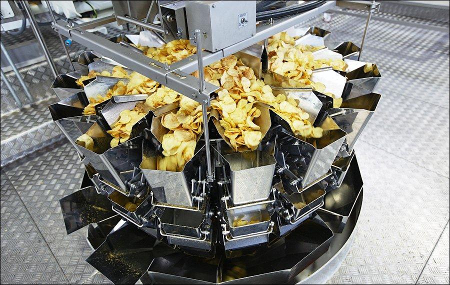 Как делают картофельные чипсы