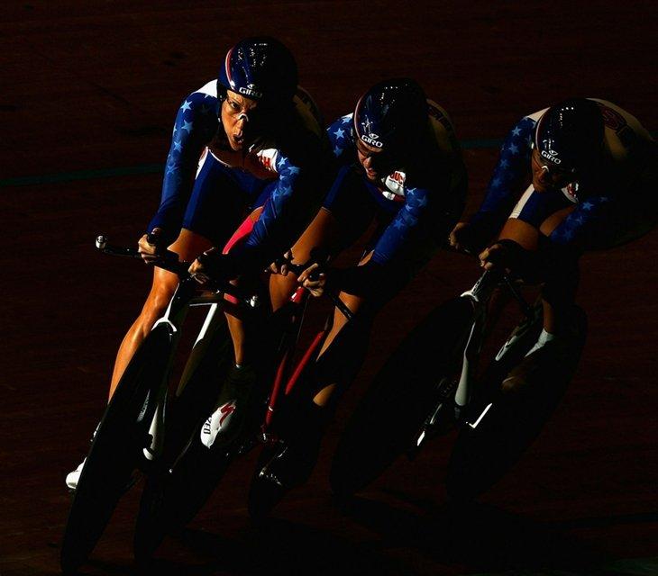 В Мельбурне, Австралия проходит чемпионат мира по велотреку