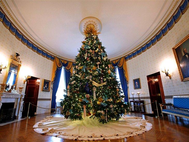 Рождественская елка в Белом доме