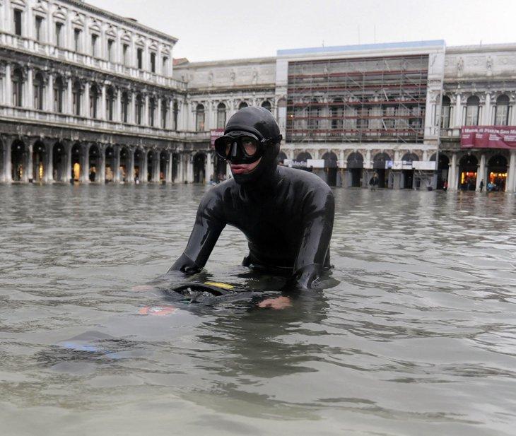 Исторический центр Венеции — площадь Святого Марка