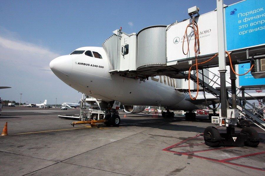 Бизнес-класс в Аэробусе A340-500 авиакомпании «Emirates»