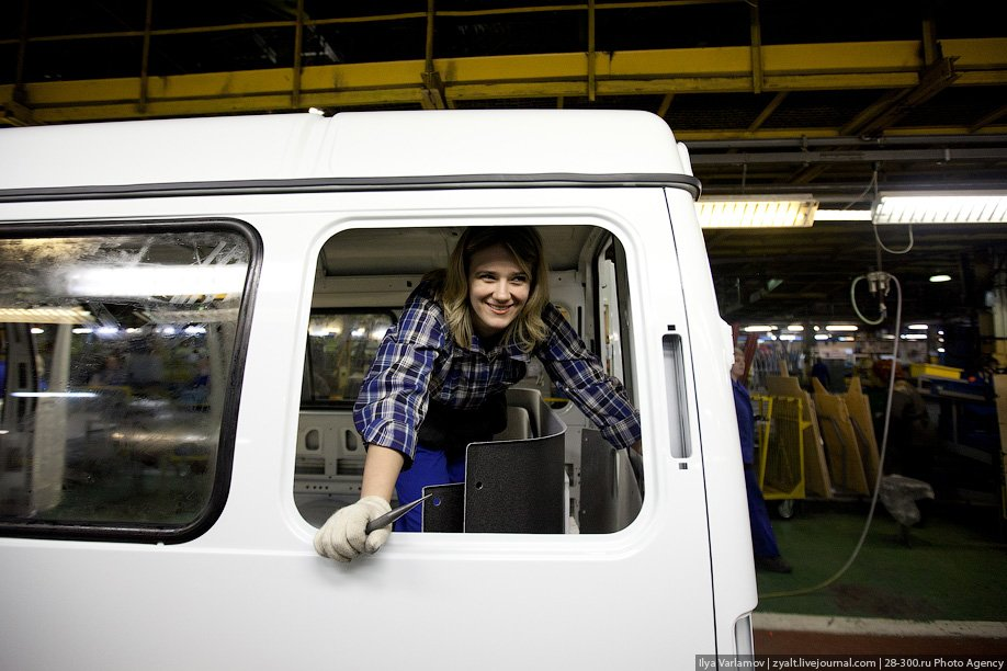 Экскурсия на завод ГАЗ
