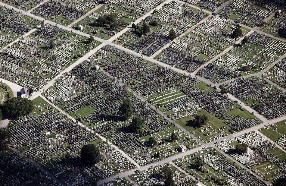 Кладбище в районе Квинс