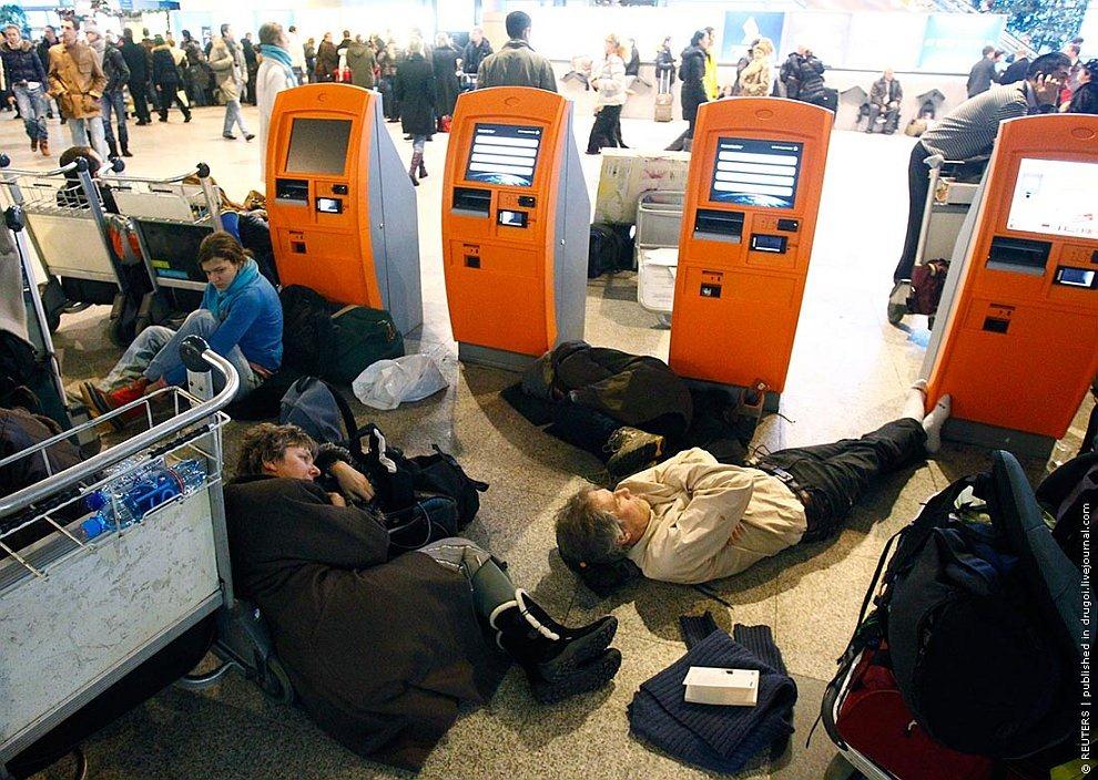 Задержки рейсов в Москве