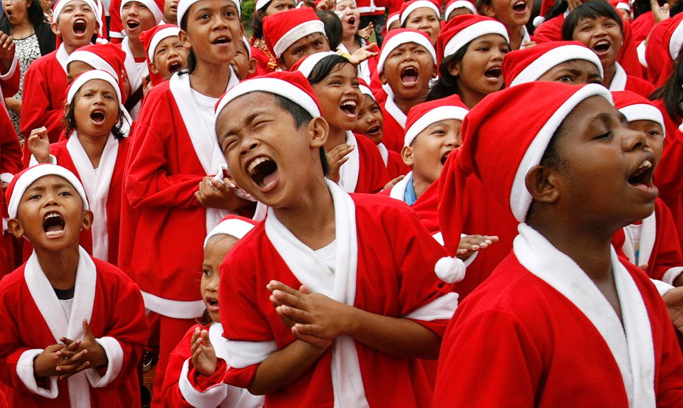 Празднование Рождества по всему миру