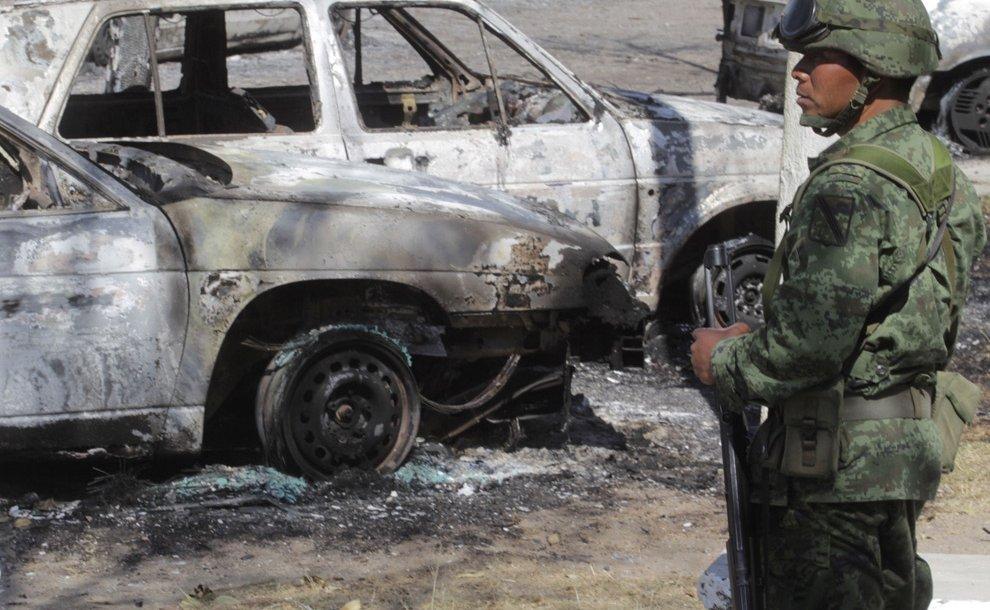 Взрыв нефтепровода в Мексике: сгорели целые улицы