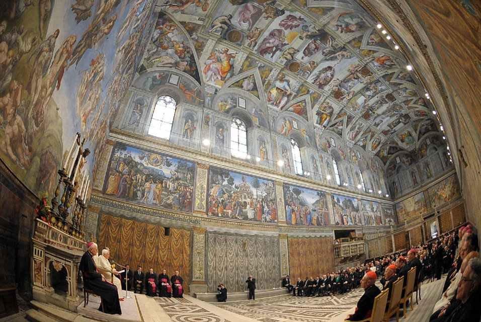 Сикстинская капелла — невероятное христианское искусство