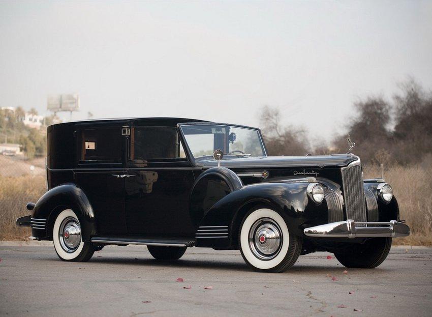 1941 Packard 160 Panel Brougham by Rollston