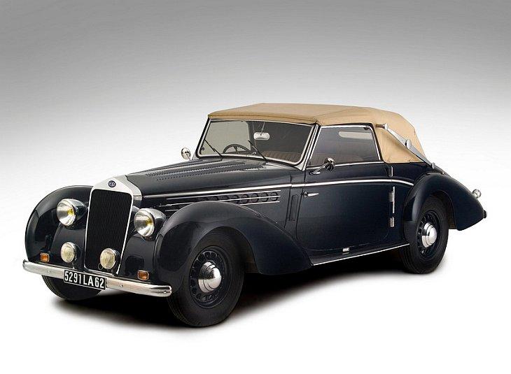 1938 Delage D6-70 Cabriolet by Guillore