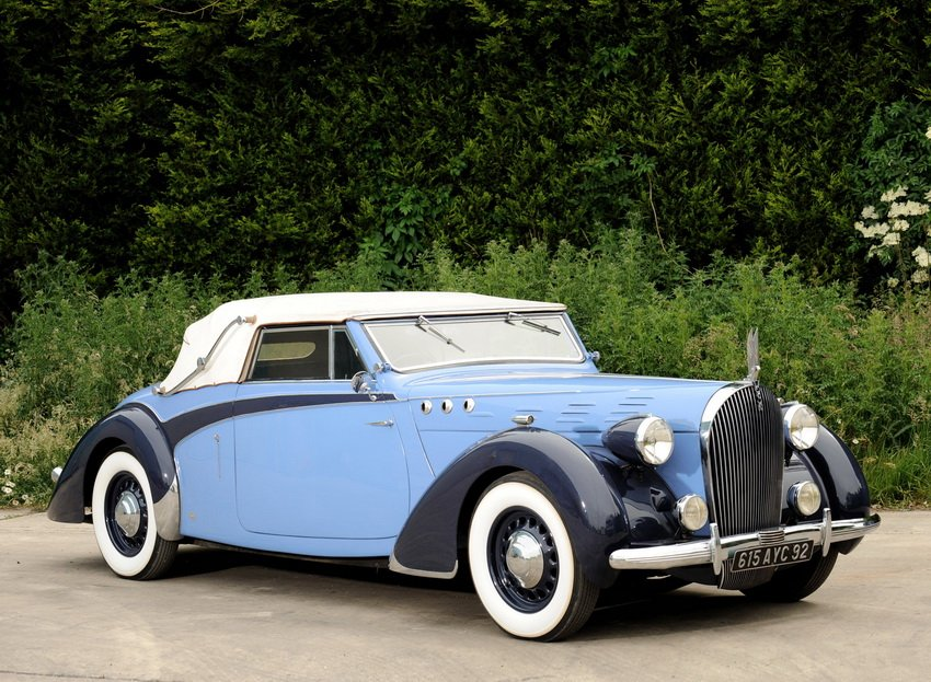 1938 Voisin C30 Cabriolet