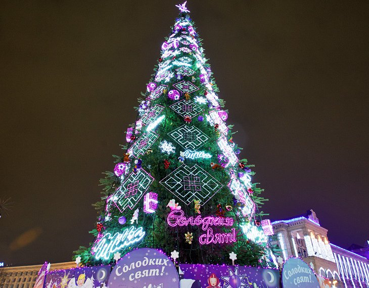 Новогодний Киев