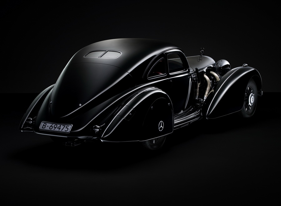 1934 — 1938 Mercedes-Benz 540K «Autobahn Kurier»: