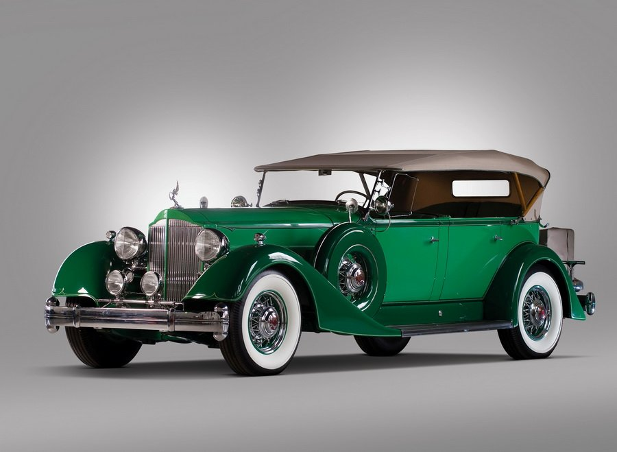 1934 Packard Twelve Phaeton