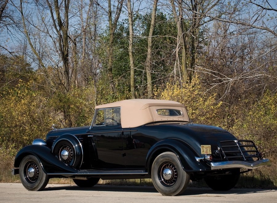 1934 Buick Series 90 Convertible Coupe