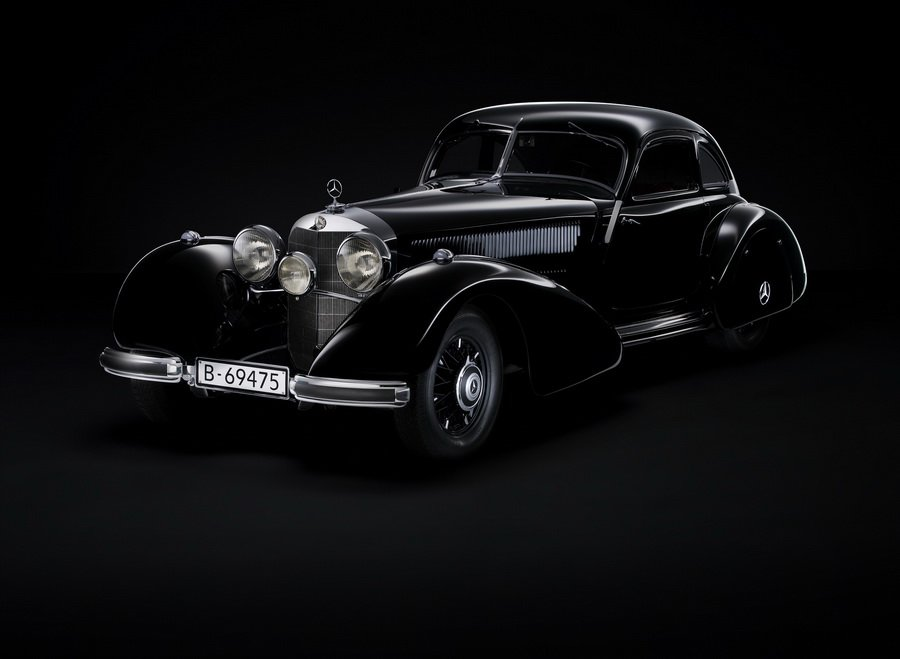 1934 — 1938 Mercedes-Benz 540K «Autobahn Kurier»