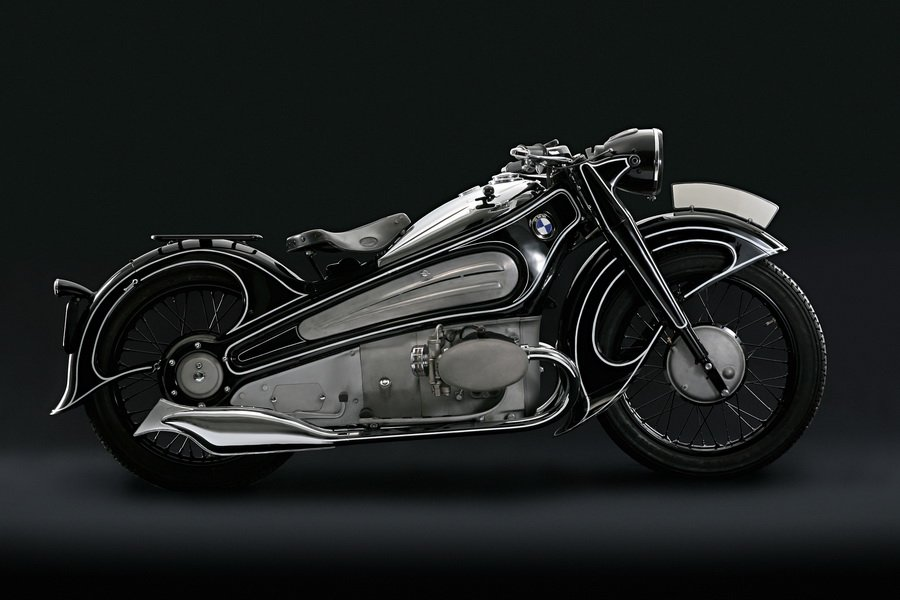 1934 BMW Motorcycle Models BMW R6