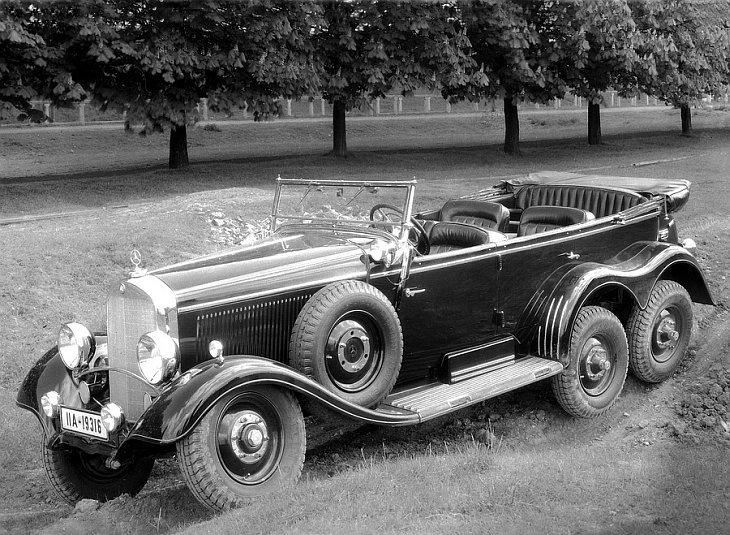 1934 — 1939 Mercedes-Benz G4 Offroader