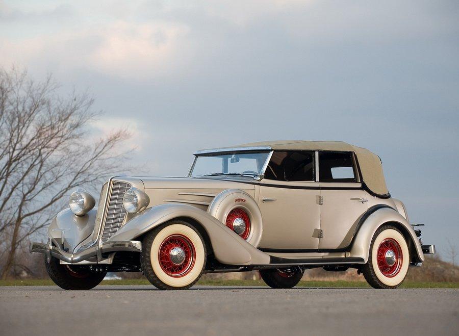1934 Auburn 850 Y Custom Phaeton