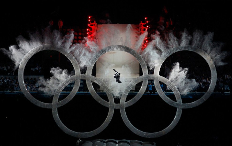 Церемонии открытия зимних Олимпийских игр 2010 в Ванкувере
