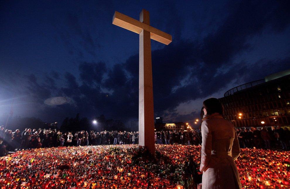 Погиб президент Польши Лех Качинский