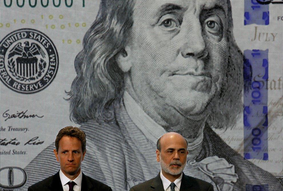 Новая 100-долларовая банкнота