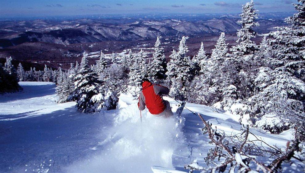Лучшие горнолыжные курорты Северной Америки