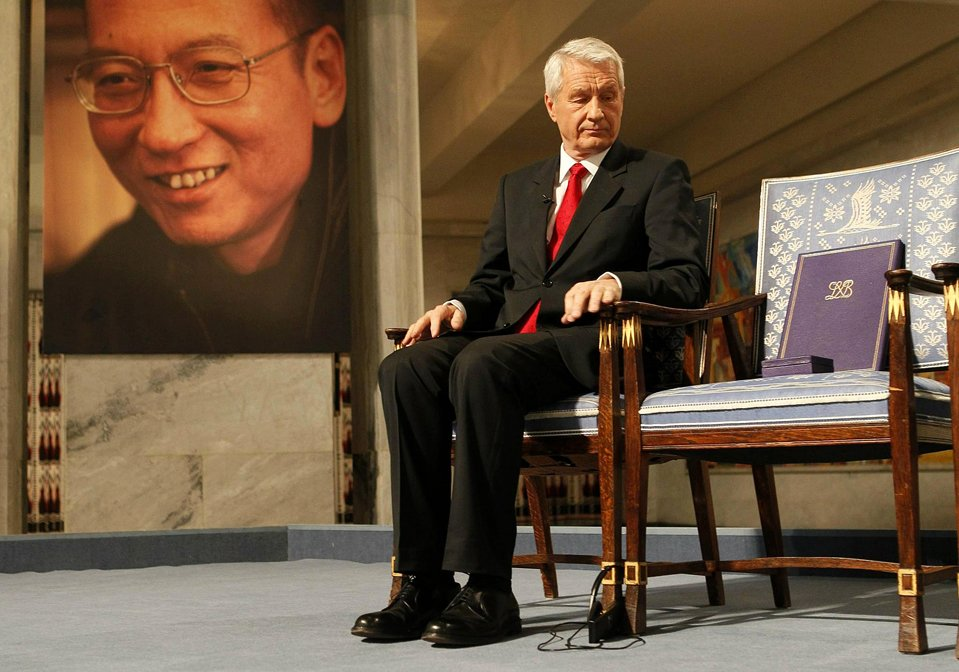 Нобелевская Премиея мира присуждена китайскому диссиденту Лю Сяобо