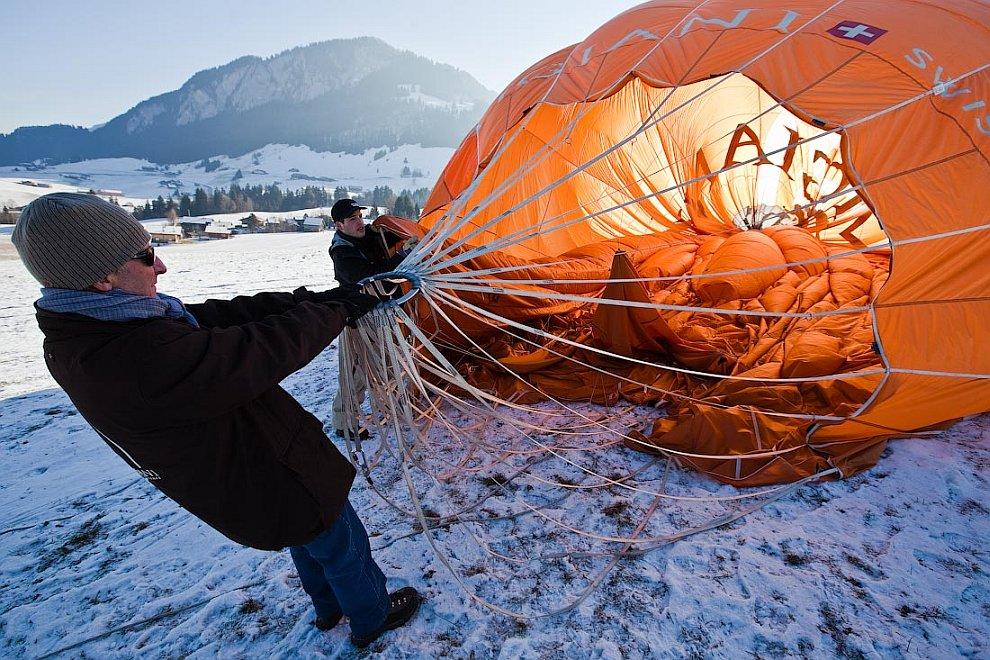 Международный фестиваль воздушных шаров в Шато д'Э