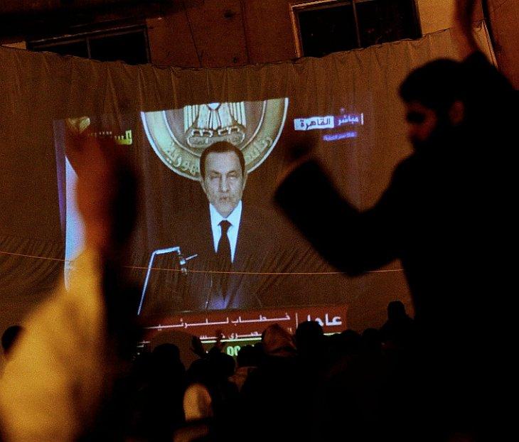 Президент Египта Хосни Мубарак объявил, что он не будет баллотироваться на новый президентский срок