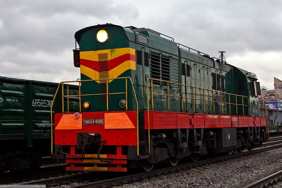 Паровоз Л-2344