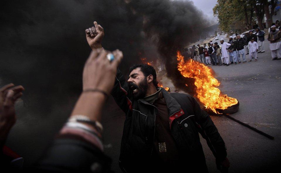 Демонстрация в Пакистане