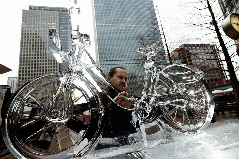 В Лондоне открылся фестиваль ледяных скульптур