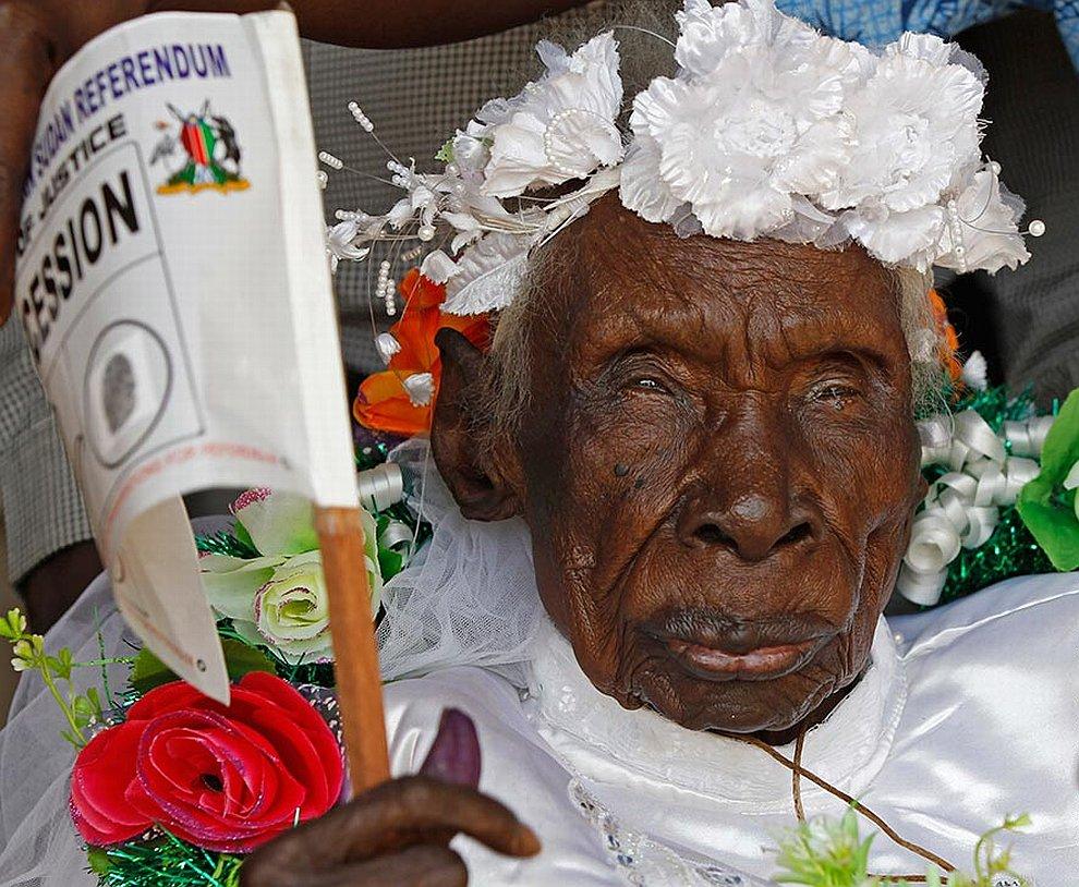 Старейшая жительница Судана — Ребекка Кади Лобуранг Диндух