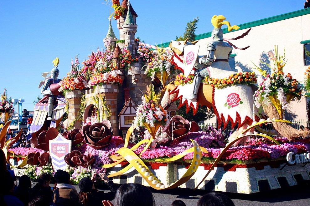 Парад Роз в Пасадене, Калифорния