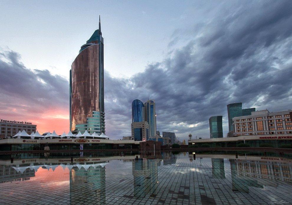 Астана с высоты птичьего полета, Казахстан