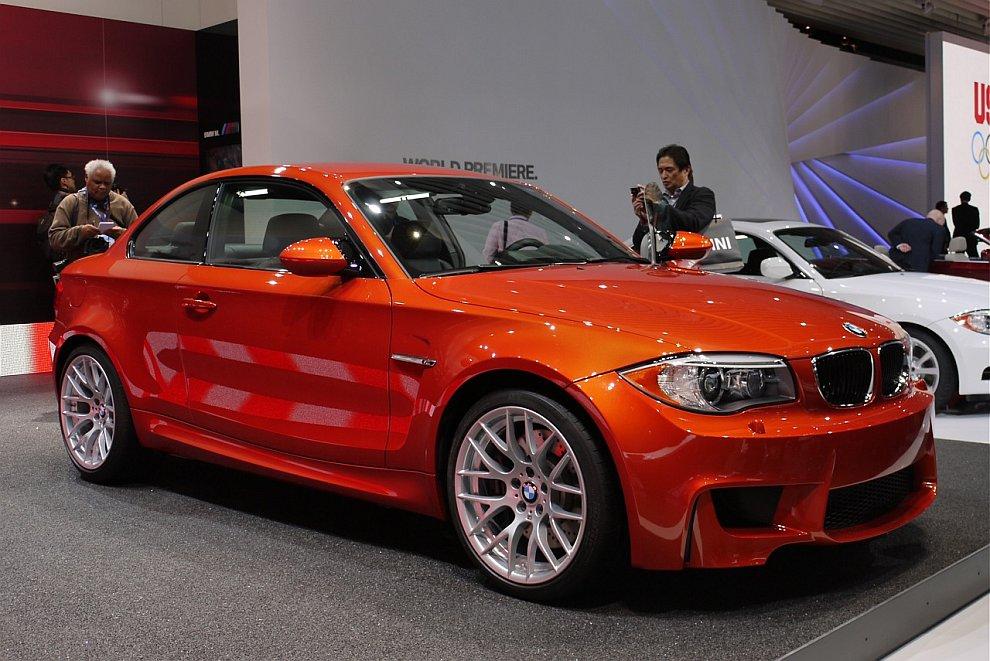 Купе BMW 1 Series M 2012