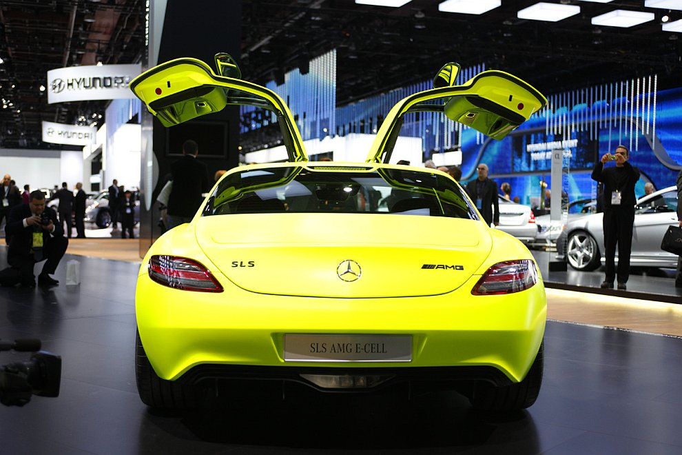 Концепт-кар Mercedes-Benz SLS AMG E-Cell
