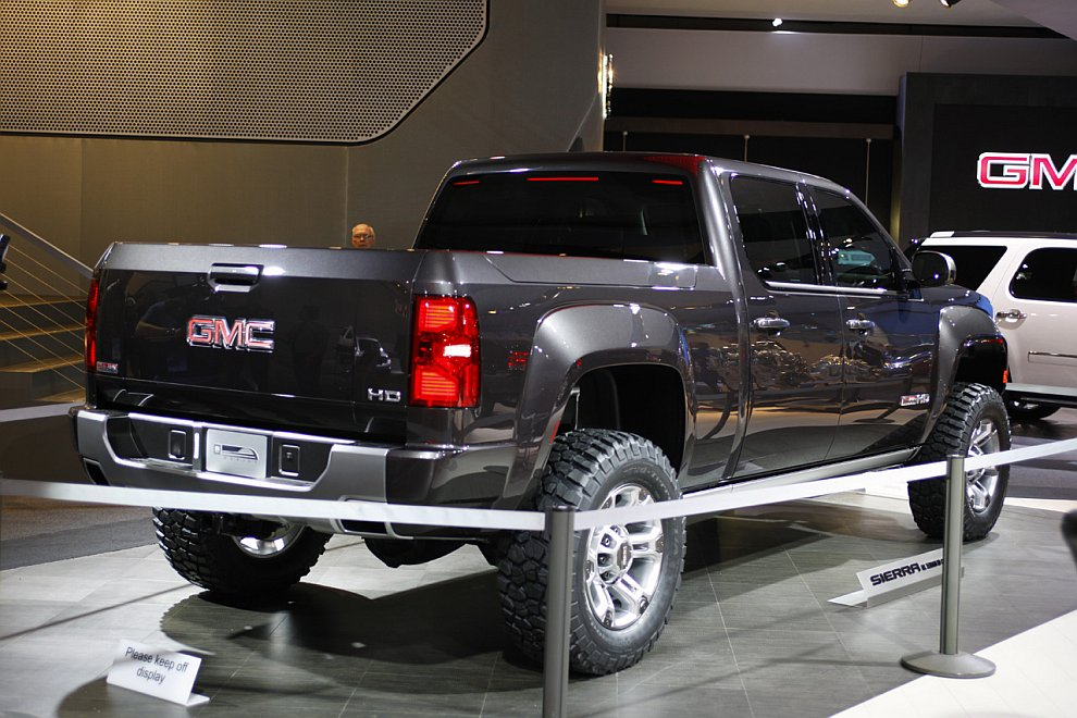 Концепт-кар GMC Sierra All Terrain HD