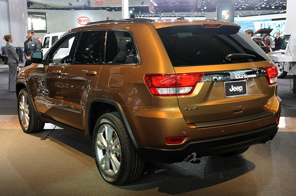 Jeep Grand Cherokee 70th Anniversary 2011