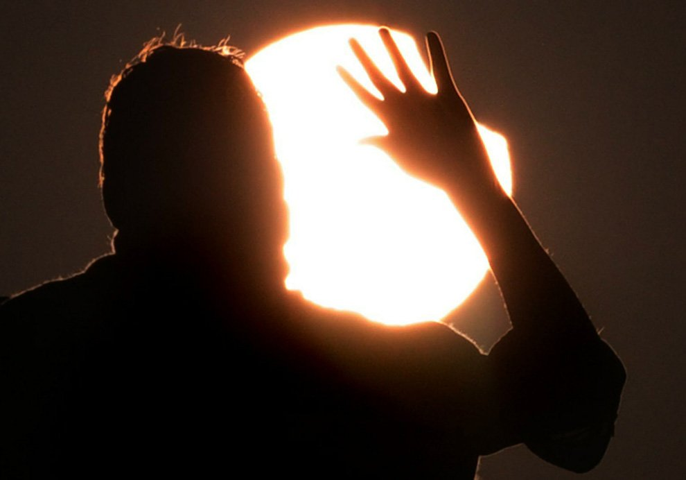Первое солнечное затмение 2011 года