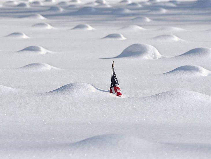 Снежные бури на Восточном побережье США