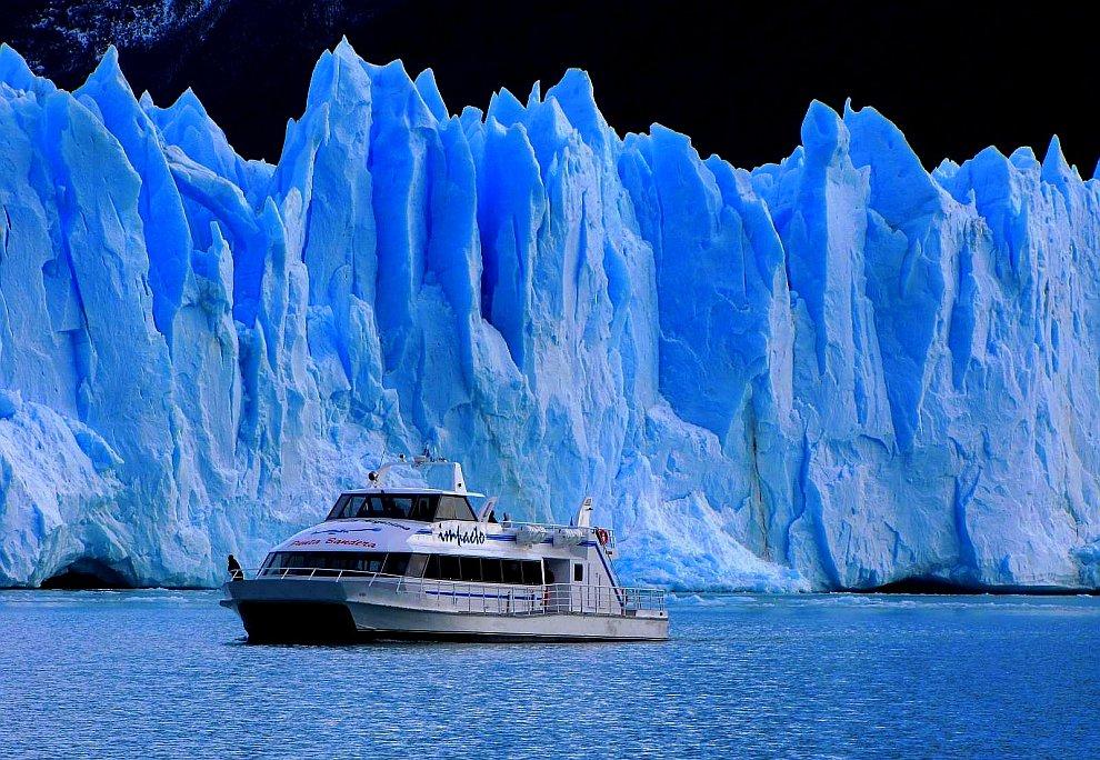 Айсберги в Патагонии