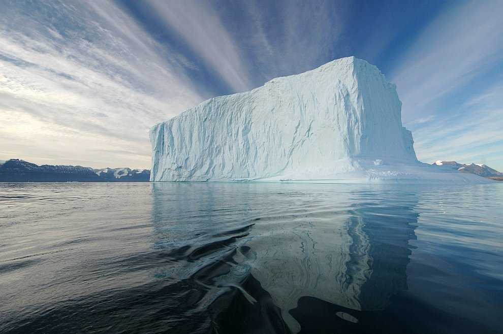 Айсберг в Дании