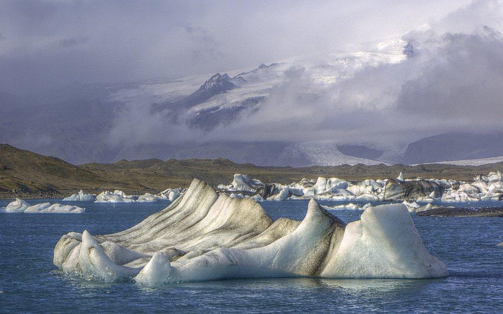 Айсберги в Исландии